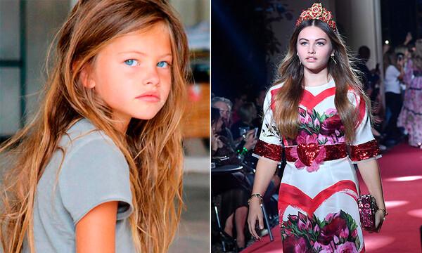 cd012ecdc5 Dolce Gabbana. ¡Ya creció! Así es como la 'niña más hermosa del mundo' se