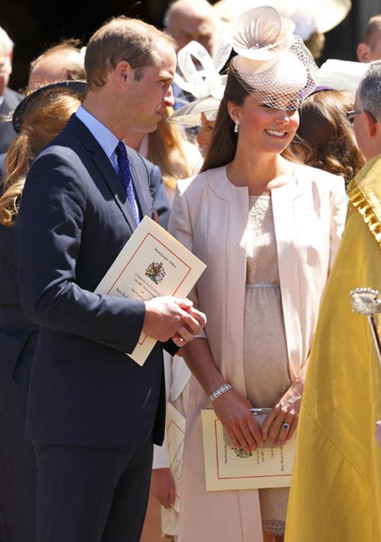 Nace el hijo de Kate Middleton y el príncipe Guillermo