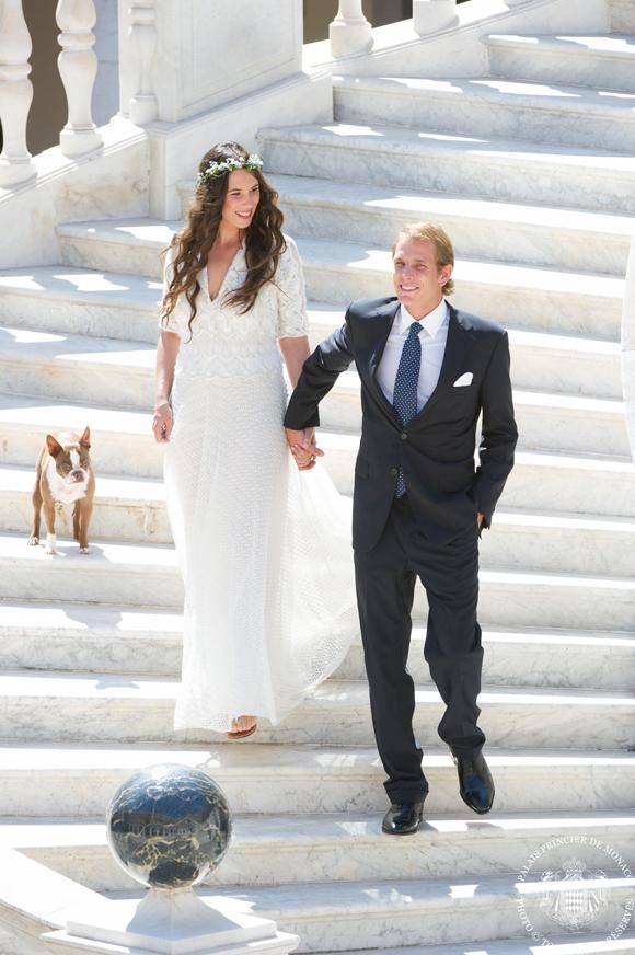 Valentino revela el boceto del vestido de novia de Tatiana Santo Domingo