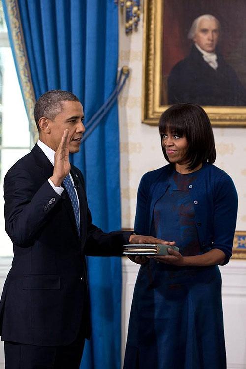 La discreta toma de protesta de barack obama por su - When is obama out of office ...
