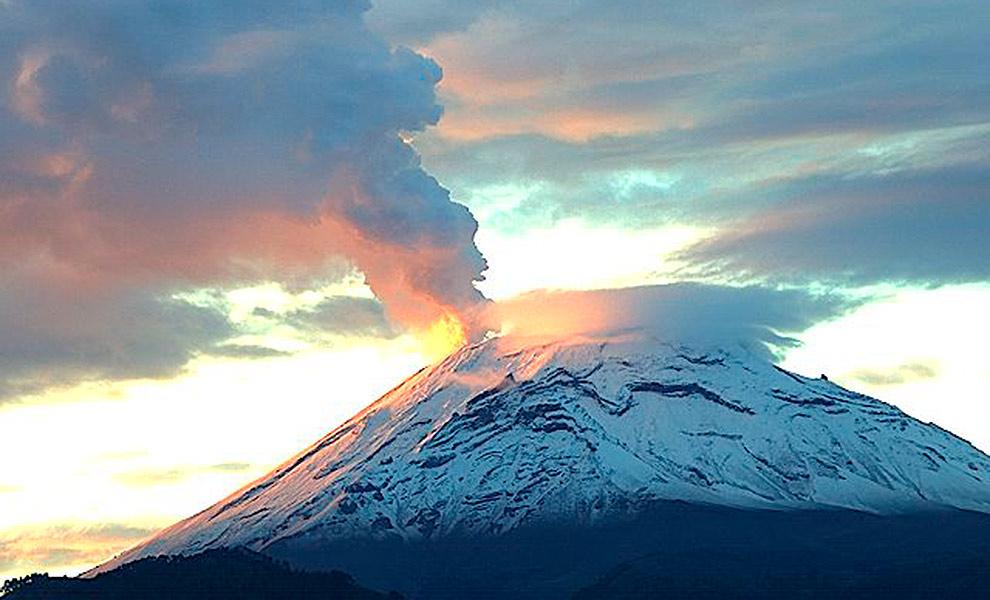 La Navidad trajo nieve al Popocatépetl y otras cumbres