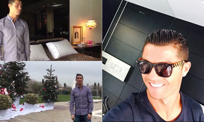 Cristiano ronaldo invita a ver su casa por navidad - Fotos de la casa de cristiano ronaldo ...