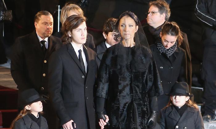 Celine dion y su marido