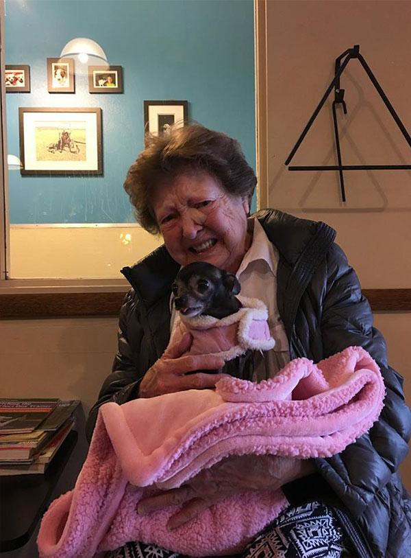 'Ahora la casa no se siente vacía', esta abuelita ha encontrado a su nueva mejor amiga