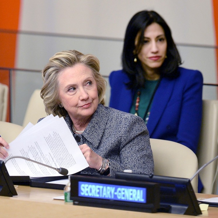 Clinton Says She Won't Be Knocked Off Course
