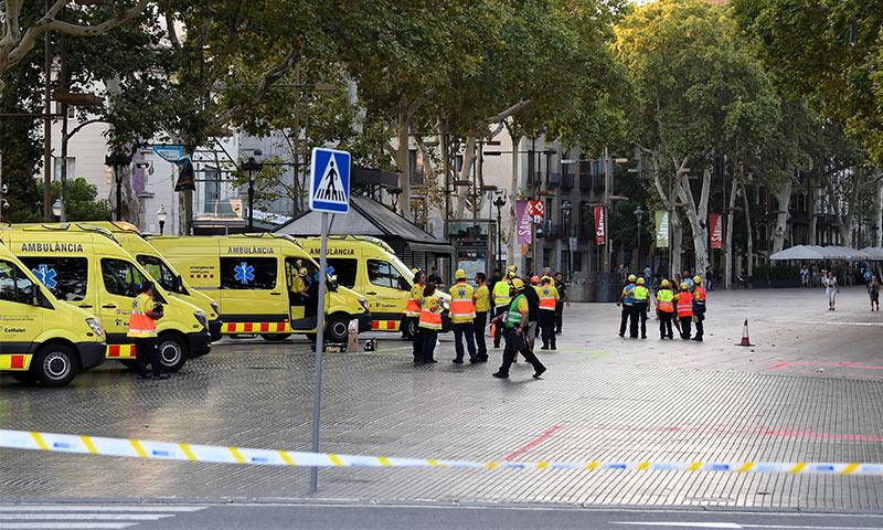 Los famosos reaccionan ante el ataque terrorista en Barcelona