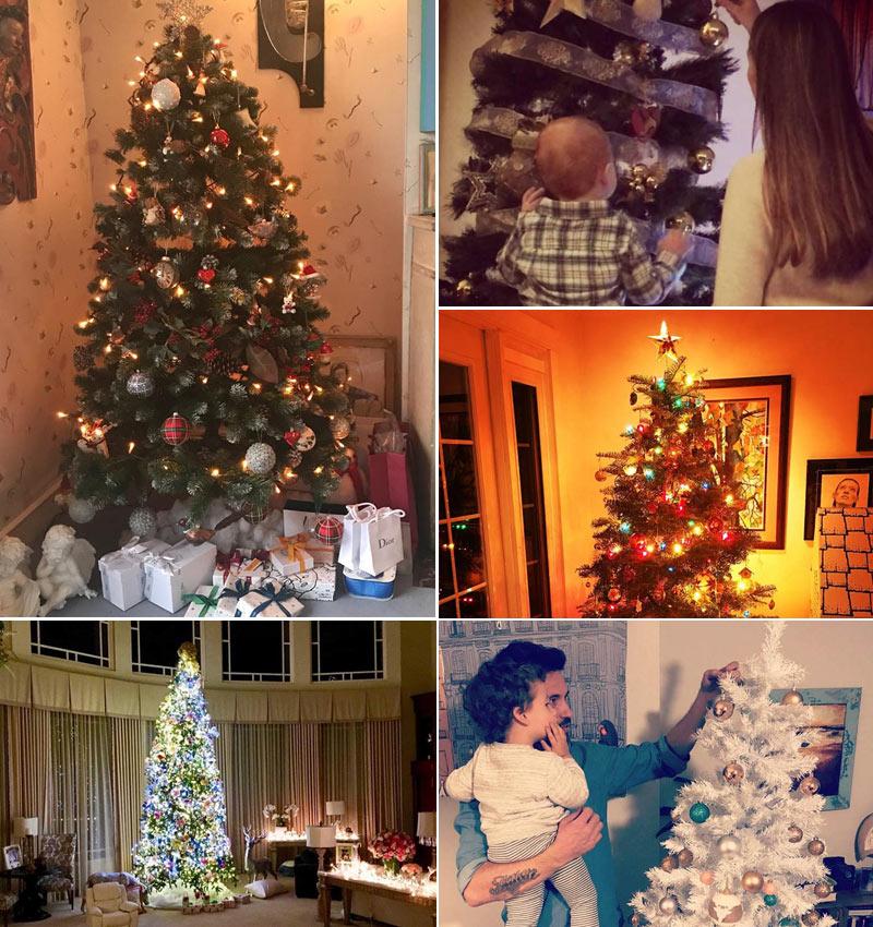 No sabes c mo decorar tu rbol de navidad insp rate en las 39 celebrities 39 foto - Como decorar mi arbol de navidad ...