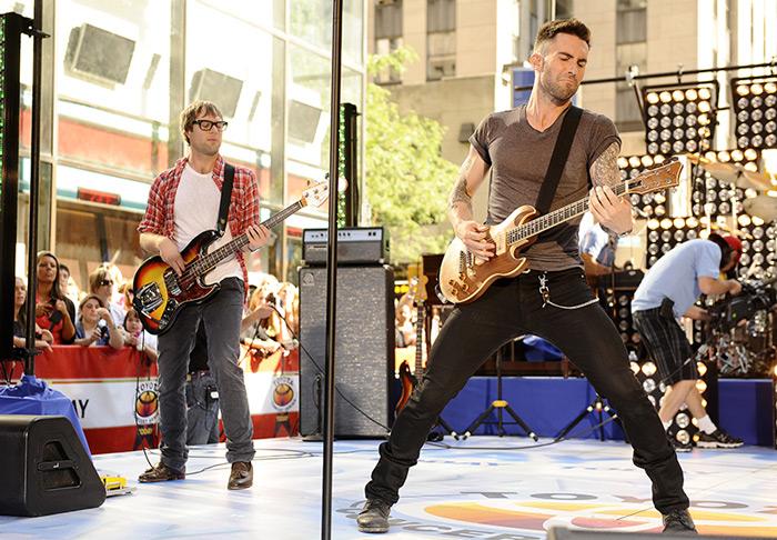 Mickey Madden de Maroon 5