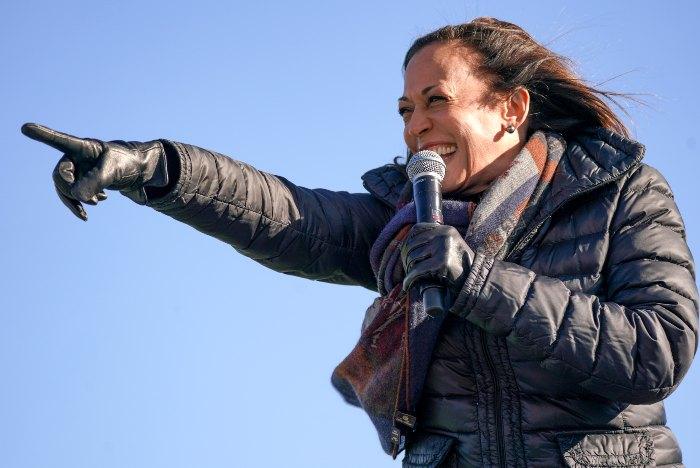 Kamala Harris, vicepresidenta electa de los Estados Unidos