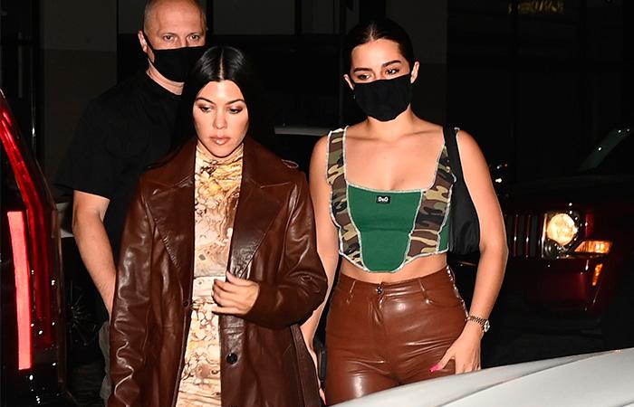Addison Rae y Kourtney Kardashian