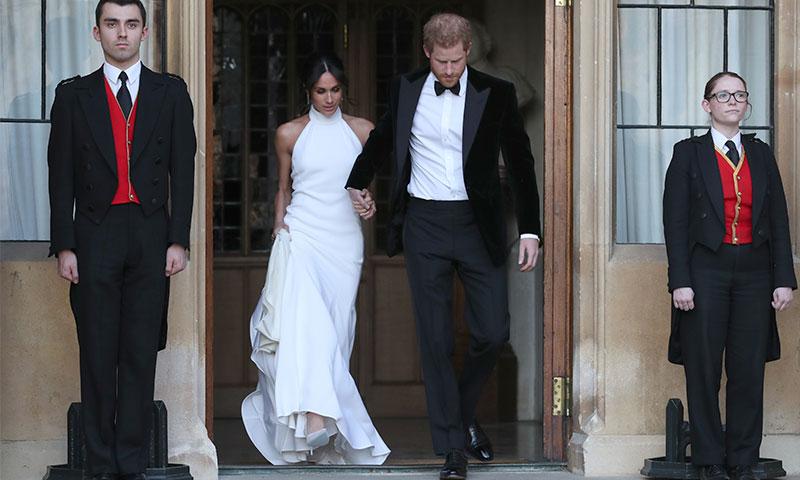 boda príncipe harry y meghan markle: el segundo vestido de novia de