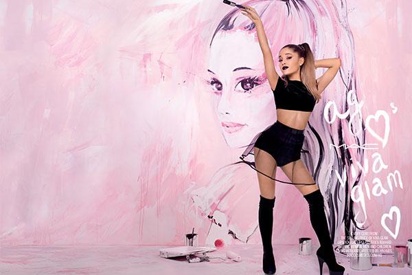 Ariana Grande presume su mejor lipstick por una buena causa