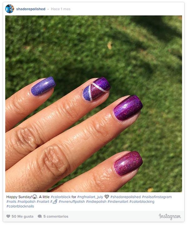 Color block: La nueva tendencia que se apoderará de tus uñas