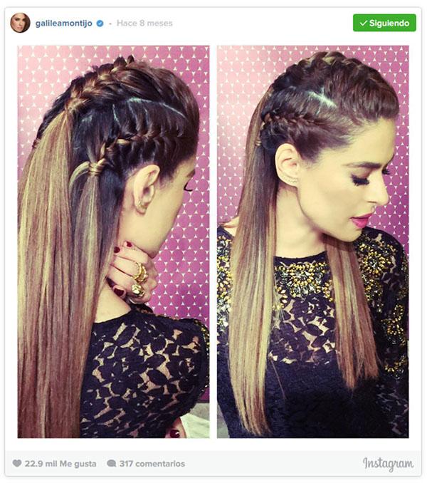 Los 5 Peinados Mas Instagrameables De Galilea Montijo