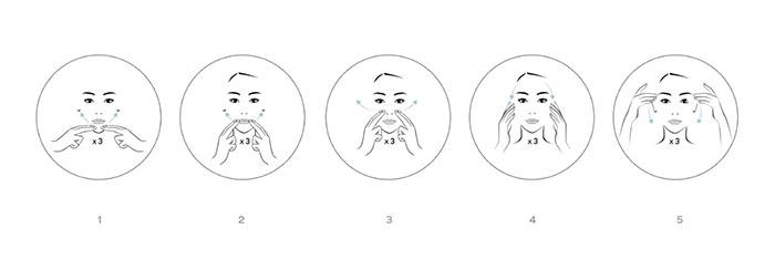 La máscara de la persona que estrecha los tiempos
