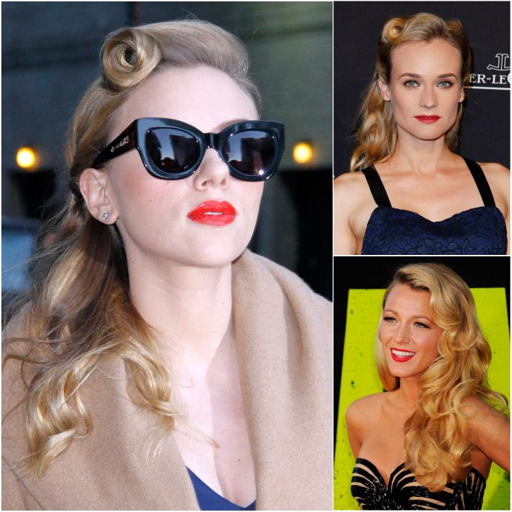 Сharming pin up peinados Imagen de cortes de pelo estilo - 7 peinados 'pin-up' según tu década favorita - Foto 8