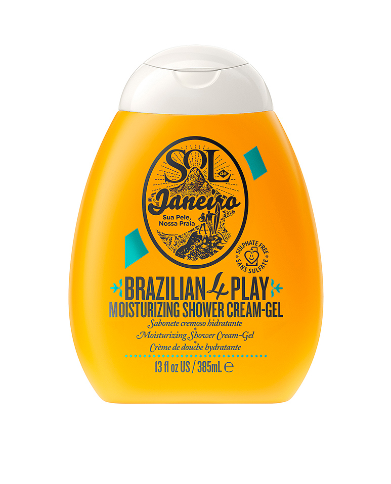 Brazilian 4-Play Shower Cream-Gel de Sol de Janeiro