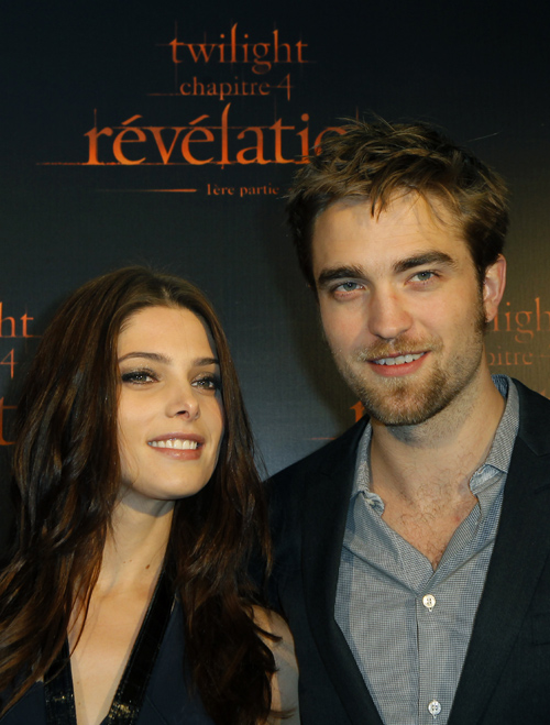 Ashley Greene y Robert Pattinson