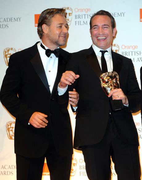 Los detalles de la glamurosa gala de los premios bafta for Jean dujardin bafta