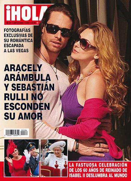Arcely Arámbula y Sebastián Rulli: Sí hubo boda, pero no ...