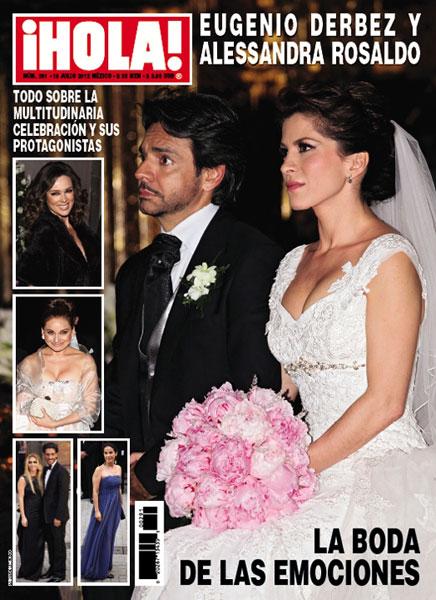 Eugenio Derbez Esposa Eugenio Derbez y Alessandra