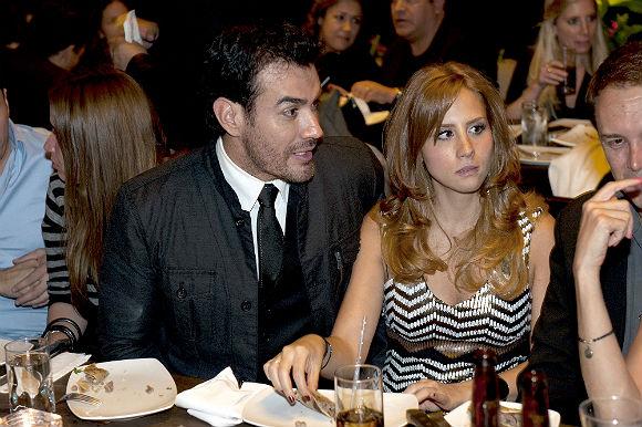 David Zepeda y su novia, Lina Radwan