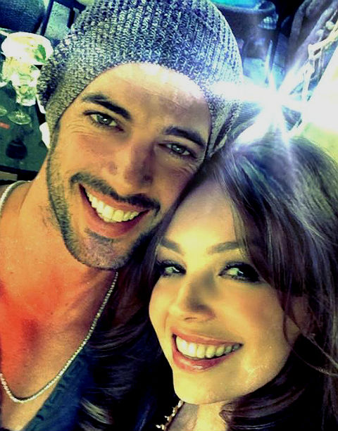 Thalía y William Levy