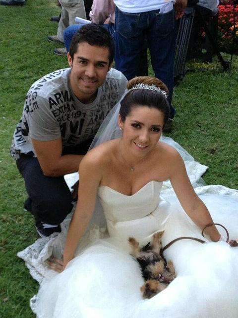 José Ron y Ariadne Díaz, compañeros de trabajo y de vida