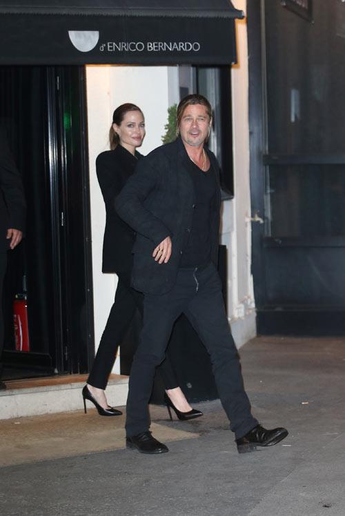Angelina jolie recibe sus 38 a os de vida con una - Cena romantica en londres ...