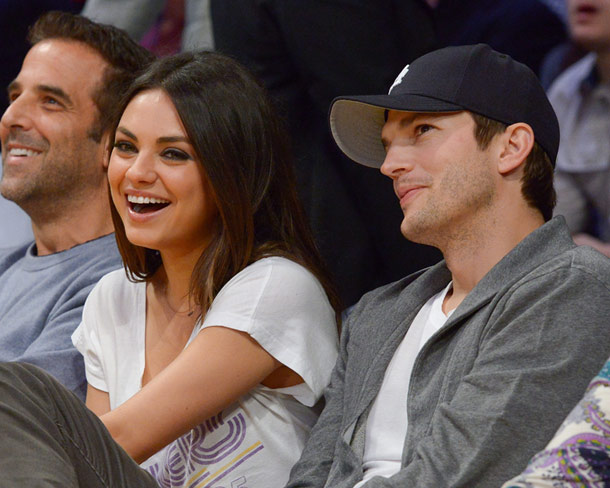 Ahston Kutcher y Mila Kunis