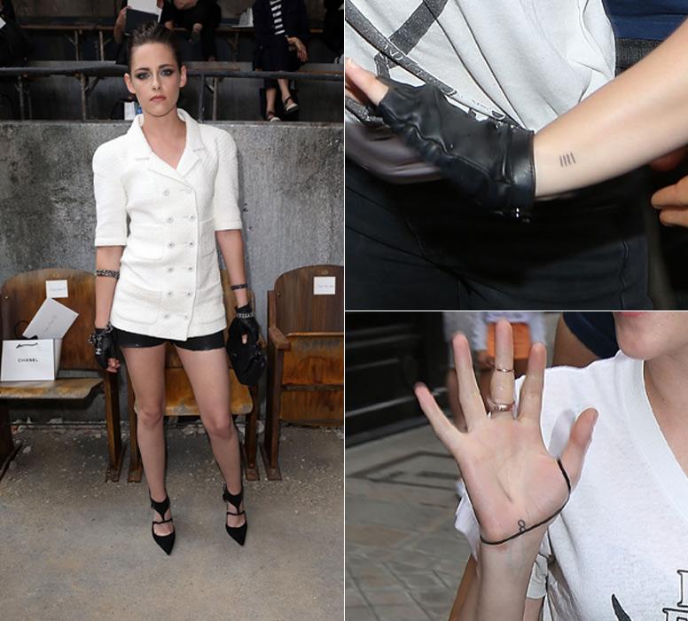 Los Tatuajes De Kristen Stewart Pequeños Y Tímidos Como La Misma