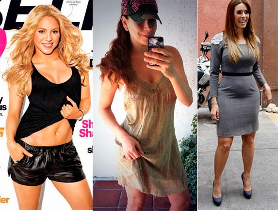 antes y despues de adelgazar famosos en el embarazo