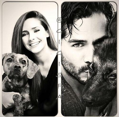 José Ron y Ariadne Díaz alzan la voz a favor de los derechos de los animales