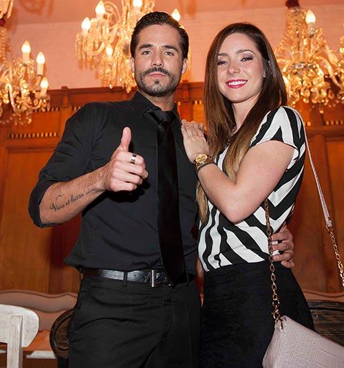 José Ron y Ariadne Díaz, listos para dar el siguiente paso ...