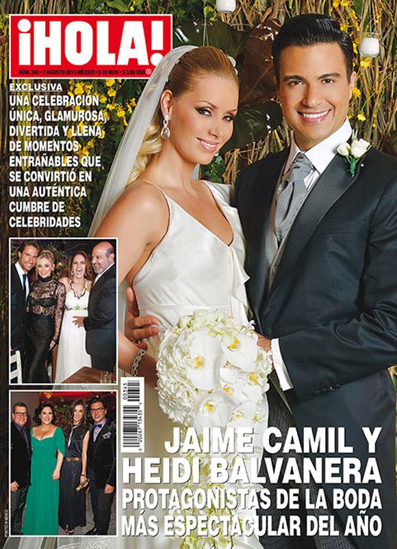 2013: Las mejores bodas del año - Foto Jaime Camil Y Su Hija