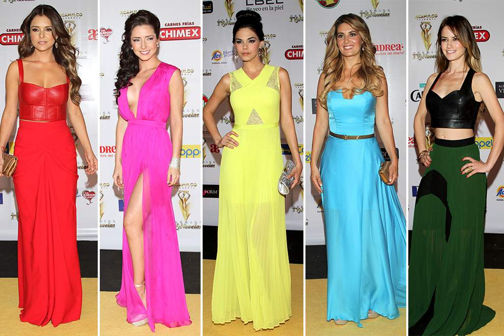 Brillos, color y estampados, as� vistieron las famosas en los ...