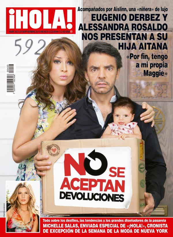 Eugenio Derbez y Alessandra Rosaldo Hija Alessandra Rosaldo y Eugenio