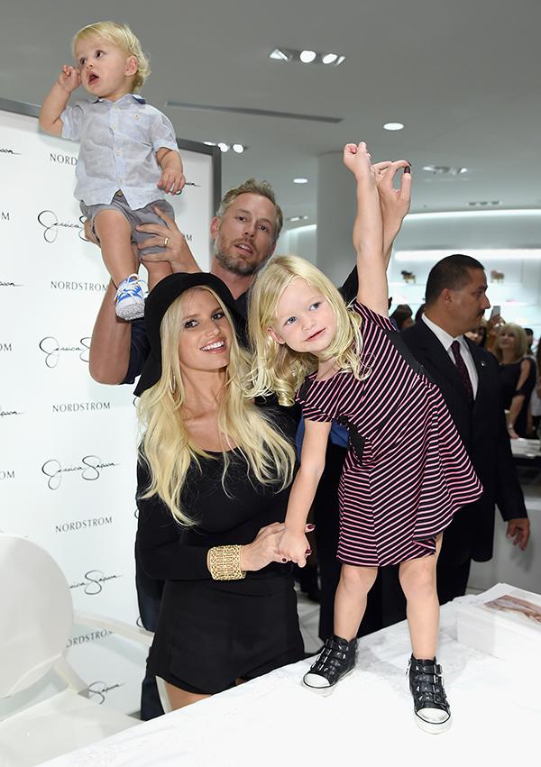 Maxwell, la hija de Jessica Simpson, tras los estilosos pasos de su madre