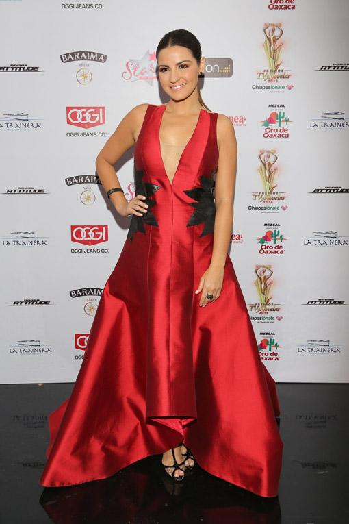 Maite Perroni vuelve con fuerza y un papel protagónico a los Premios Juventud