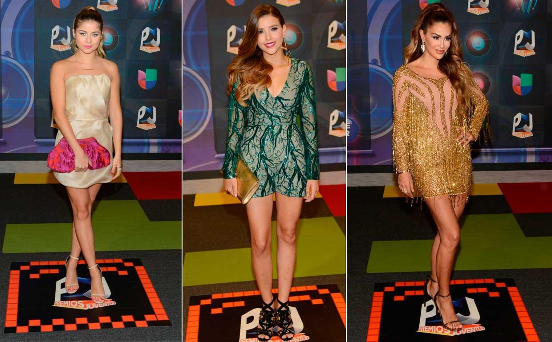 La alfombra roja de los Premios Juventud 2015