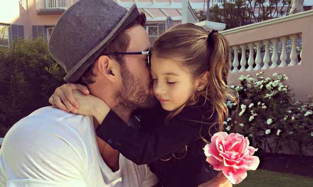 WILLIAM LEVY Y SU HIJA KAILEY