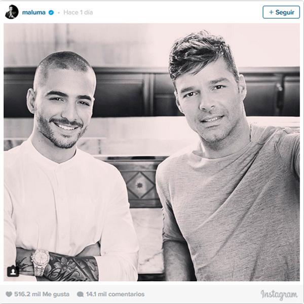 Maluma Y Ricky Martin foto hotel