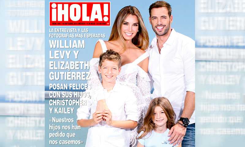 En ¡HOLA!, William Levy y Elizabeth Gutiérrez posan ...William Levy Y Elizabeth Gutierrez