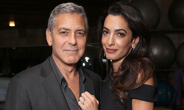 ¡Ya se sabe el sexo de los mellizos de George Clooney y Amal!