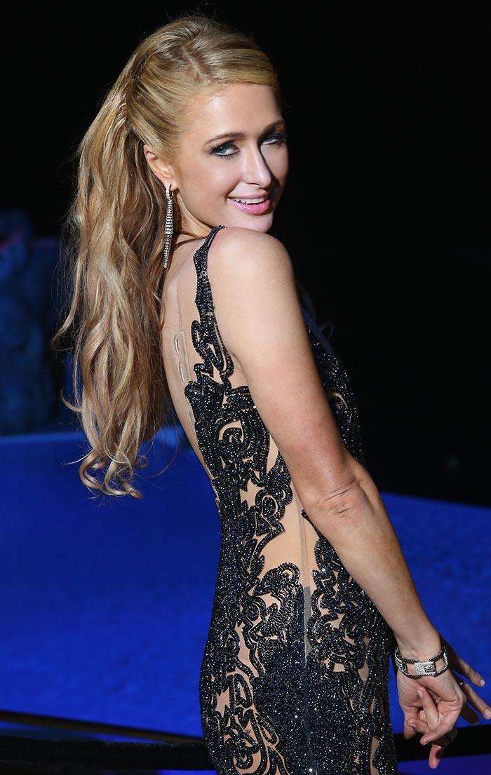 Misteriosos besos, el regalo de Paris Hilton en su cumpleaños 35