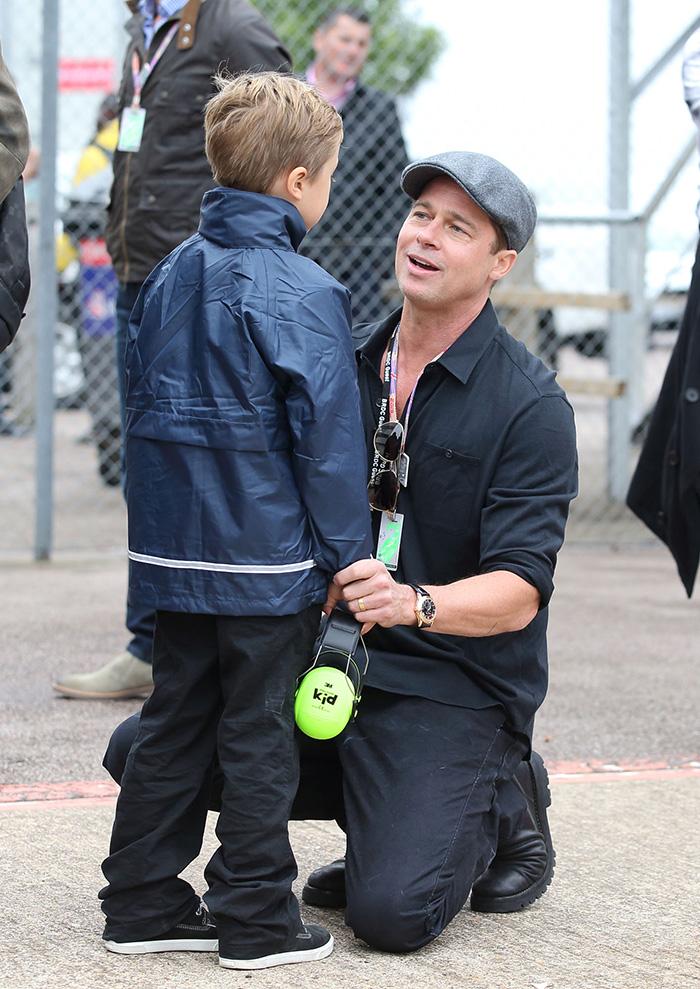 ¿Qué piensa Angelina Jolie sobre el papel de papá de Brad Pitt?
