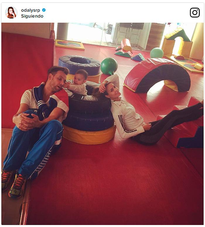 ¡Feliz cumple Gia! Odalys Ramírez y Pato Borghetti celebran el primer año de su bebé