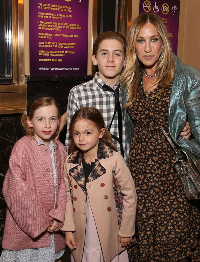 Sarah Jessica Parker aparece por primera vez con toda su familia