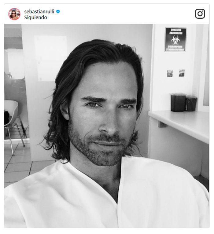 El misterioso cambio de look de Sebastián Rulli