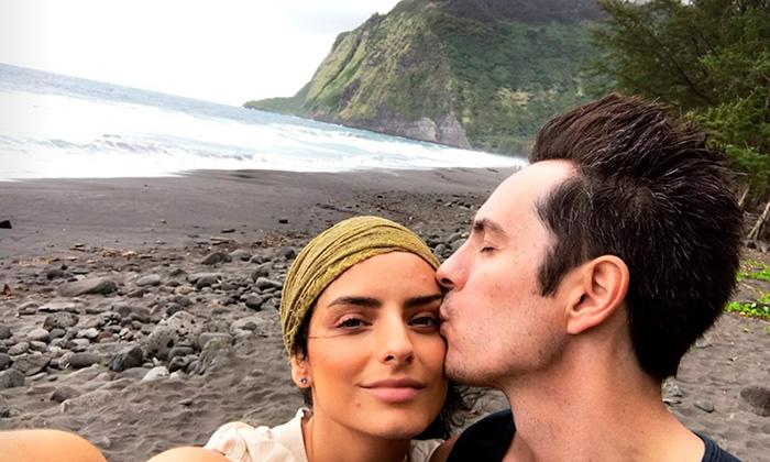 'Aloha!'Aislinn Derbez y Mauricio Ochmann, de aventura por Hawái